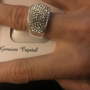 Jewelry - New Genuine Crystal ring,